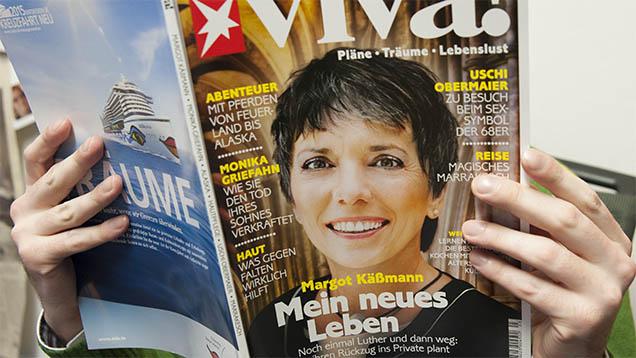 Das Magazin viva hat in seiner jüngsten Ausgabe die Lutherbotschafterin der Evangelischen Kirche in Deutschland, Margot Käßmann, porträtiert
