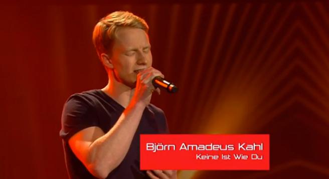 """Für Gott habe er seinen Auftritt bestritten: Björn Kahl bekannte sich bei """"The Vocie of Germany"""" als Christ"""