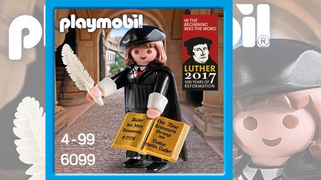 Den Luther von Playmobil gibt es nun. Wo bleiben die Wartburg und Katharina von Bora, fragen sich Fans