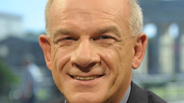 Sonntags talkt Peter Hahne im ZDF. Am Donnerstag sprach er bei der Christlichen Polizeivereinigung