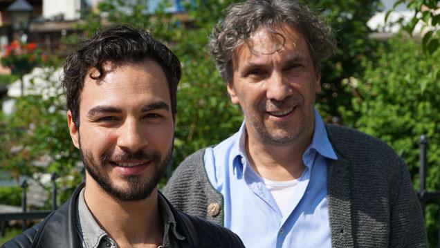 Neue und alte Generation der Oberammergauer Passionsspiele: Abdullah Karaca und Christian Stückl