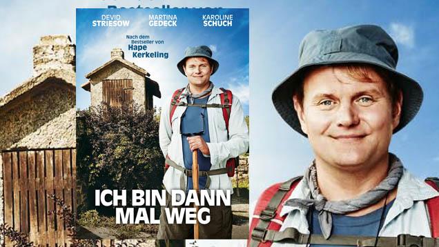 """Am 24. Dezember läuft in den deutschen Kinos die Verfilmung des Pilger-Buches """"Ich bin dann mal weg"""" von Hape Kerkeling an"""