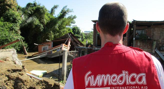 Auch die Mitarbeiter des christlichen Hilfswerks humedica sind in Ecuador vor Ort und beseitigen die Trümmerschäden des Erdbebens