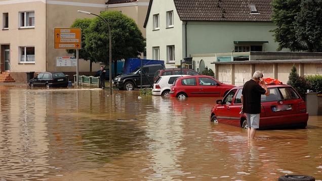 Nach den Unwetern in Süddeutschland gab es vergangene Woche viel aufzuräumen (Symbolbild)