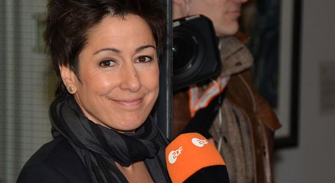 Dunja Hayali ist Preisträgerin des EKD-Medienpreises Robert Geisendörfer Preis