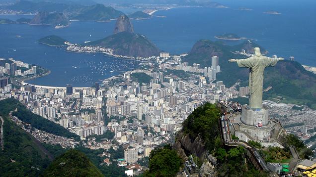 Die Olympischen Spiele 2016 finden unter den Augen der Christusstatue in Rio de Janeiro statt