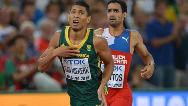 Der Südafrikaner Wayde van Niekerk bewies Demut bei seinem Weltrekord in Rio de Janeiro (Archivbild)