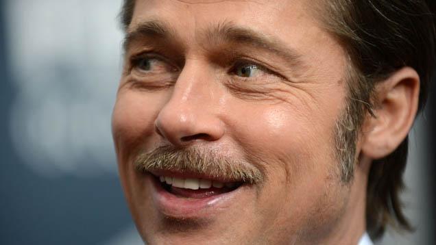 Der Schauspieler und Filmproduzent Brad Pitt würde gerne einen Spielfilm über Pontius Pilatus drehen