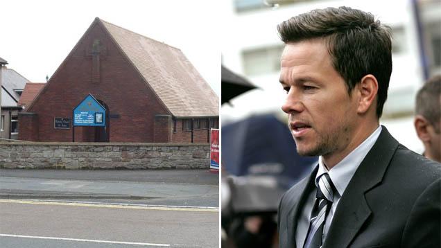 Eine kleine Kirche suchte sich Hollywoodstar Mark Wahlberg aus, um am Gottesdienst in Northumberland, England, teilzunehmen
