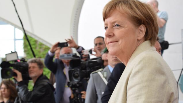 Angela Merkel hat erneut appelliert, sich auf die eigene Kultur zu besinnen