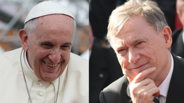 Der ehemalige Bundespräsident Horst Köhler ist tief bewegt vom Auftreten des Papstes Franziskus