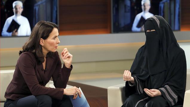 """Auch der NDR-Rundfunkrat sieht den Auftritt der vollverschleierten Muslimin Nora Illi bei """"Anne Will"""" kritisch"""