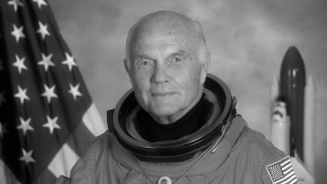 Der US-Astronaut und Politiker John Glenn verstarb am Donnerstag im Alter von 95 Jahren