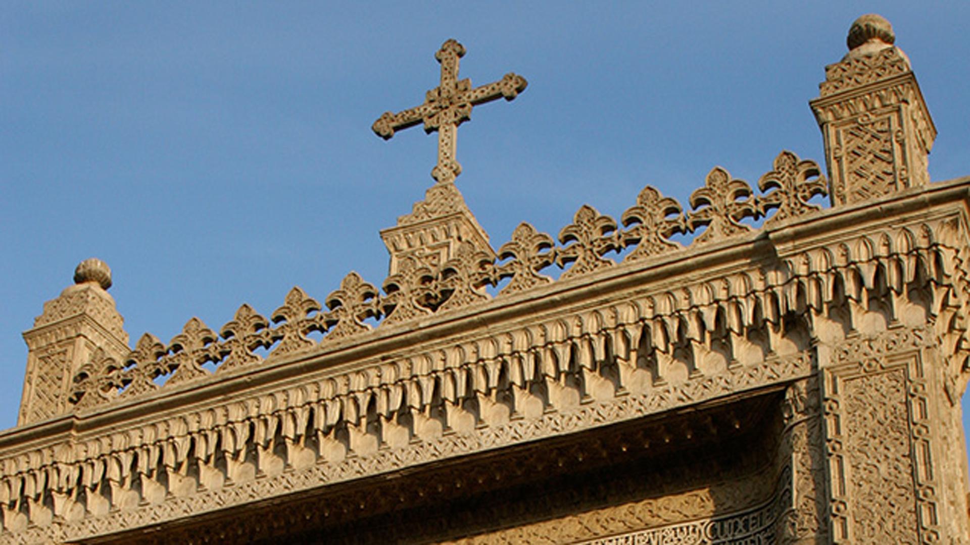 Eine koptische Kirche in Kairo: 25 Menschen kamen bei einer Explosion nahe einer Kirche in der Stadt am Wochenende ums Leben. Der IS hat sich zu diesem Anschlag bekannt.