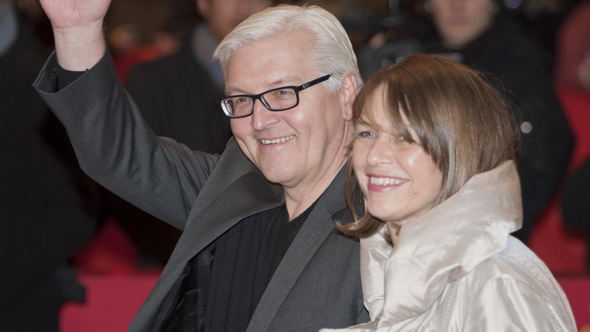 Seit 1995 sind sie verheiratet: Frank-Walter Steinmeier und Elke Büdenbender, die 2010 von ihrem Mann eine Spenderniere erhielt
