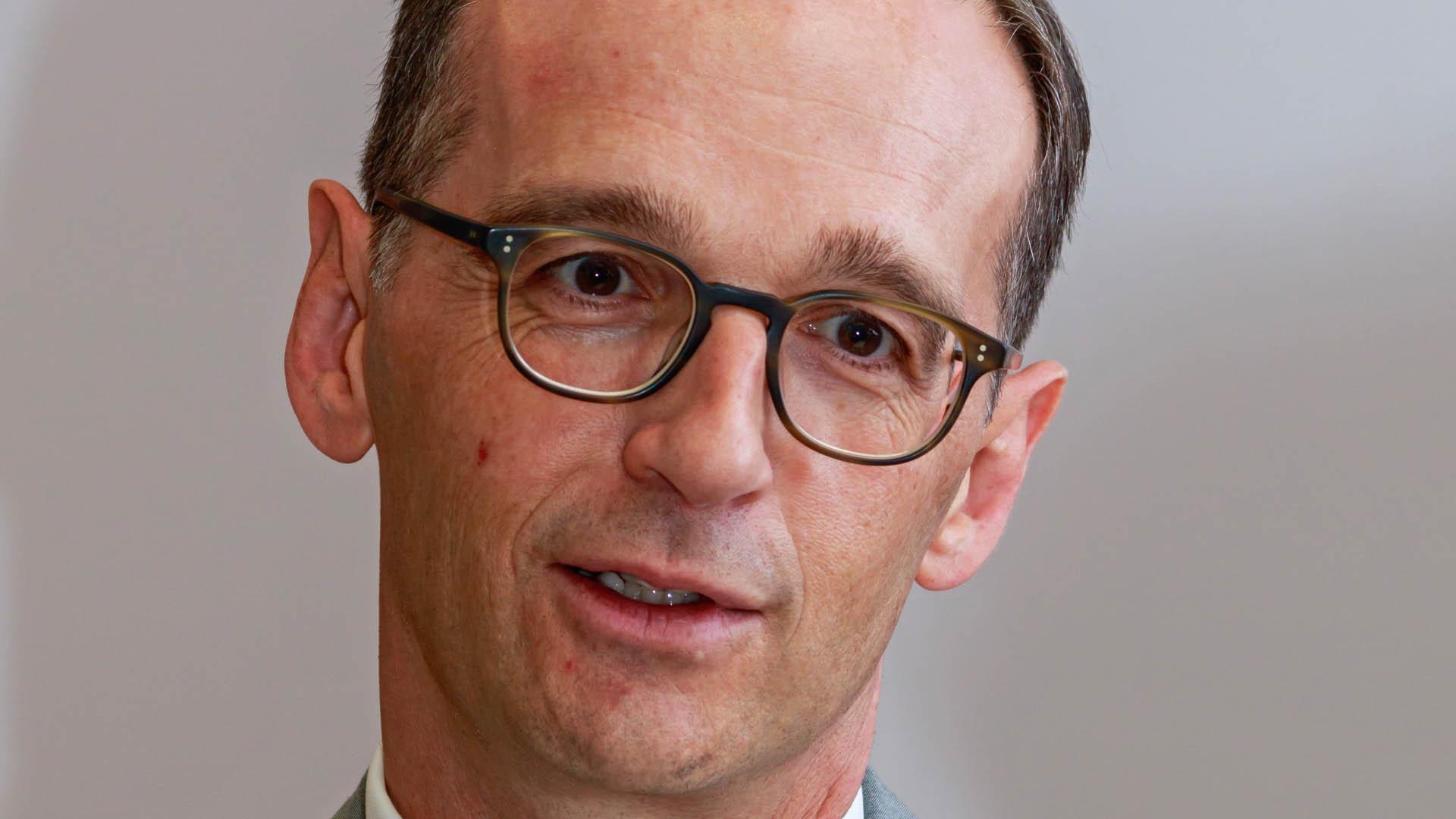"""Bundesjustizminister Heiko Maas: """"Es wird auf jeden von uns mehr Verantwortung zukommen, das, was man im Internet sieht und findet, nicht einfach vorbehaltlos zu übernehmen."""""""