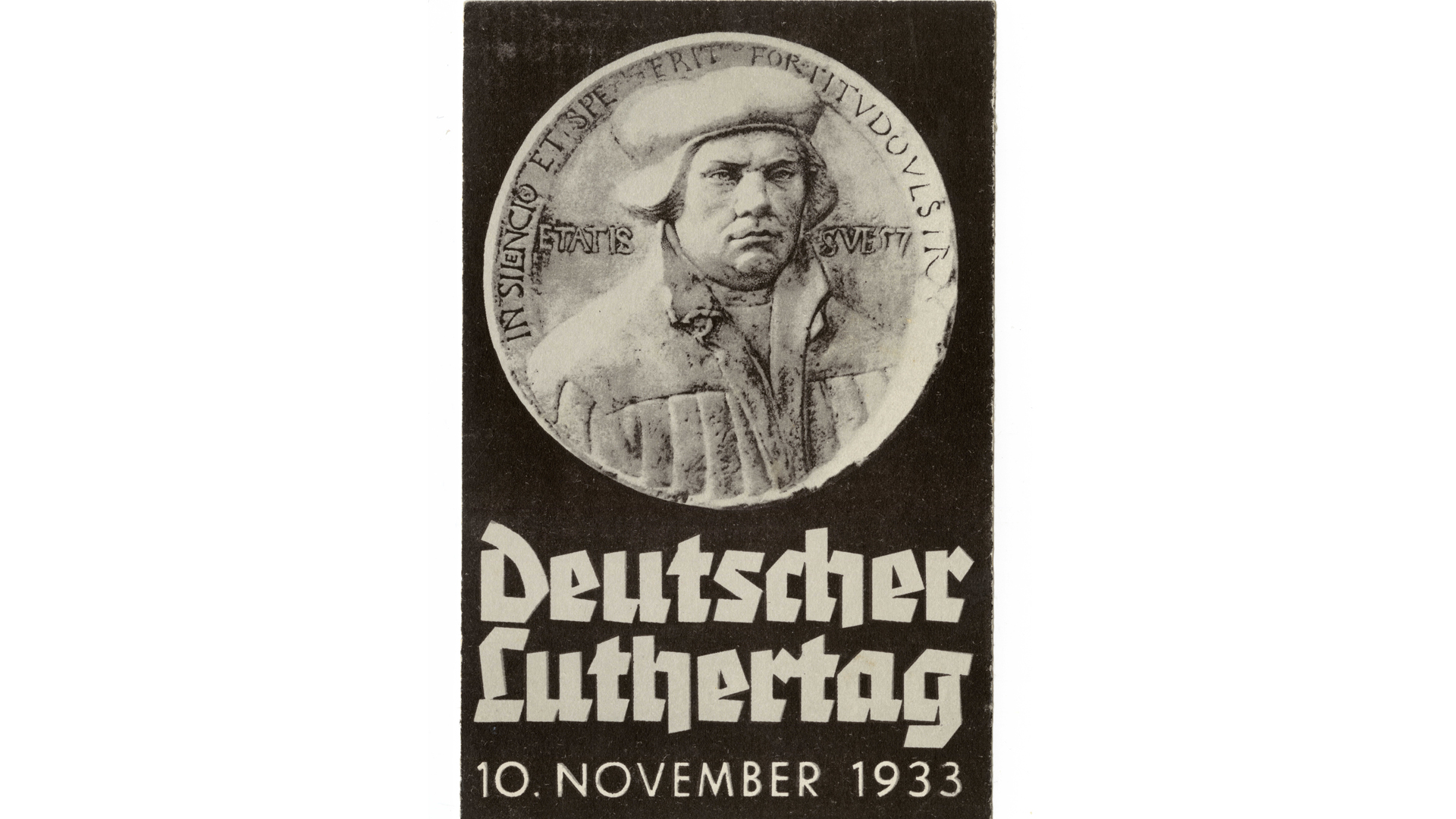Postkarte zum Deutschen Luthertag von 1933