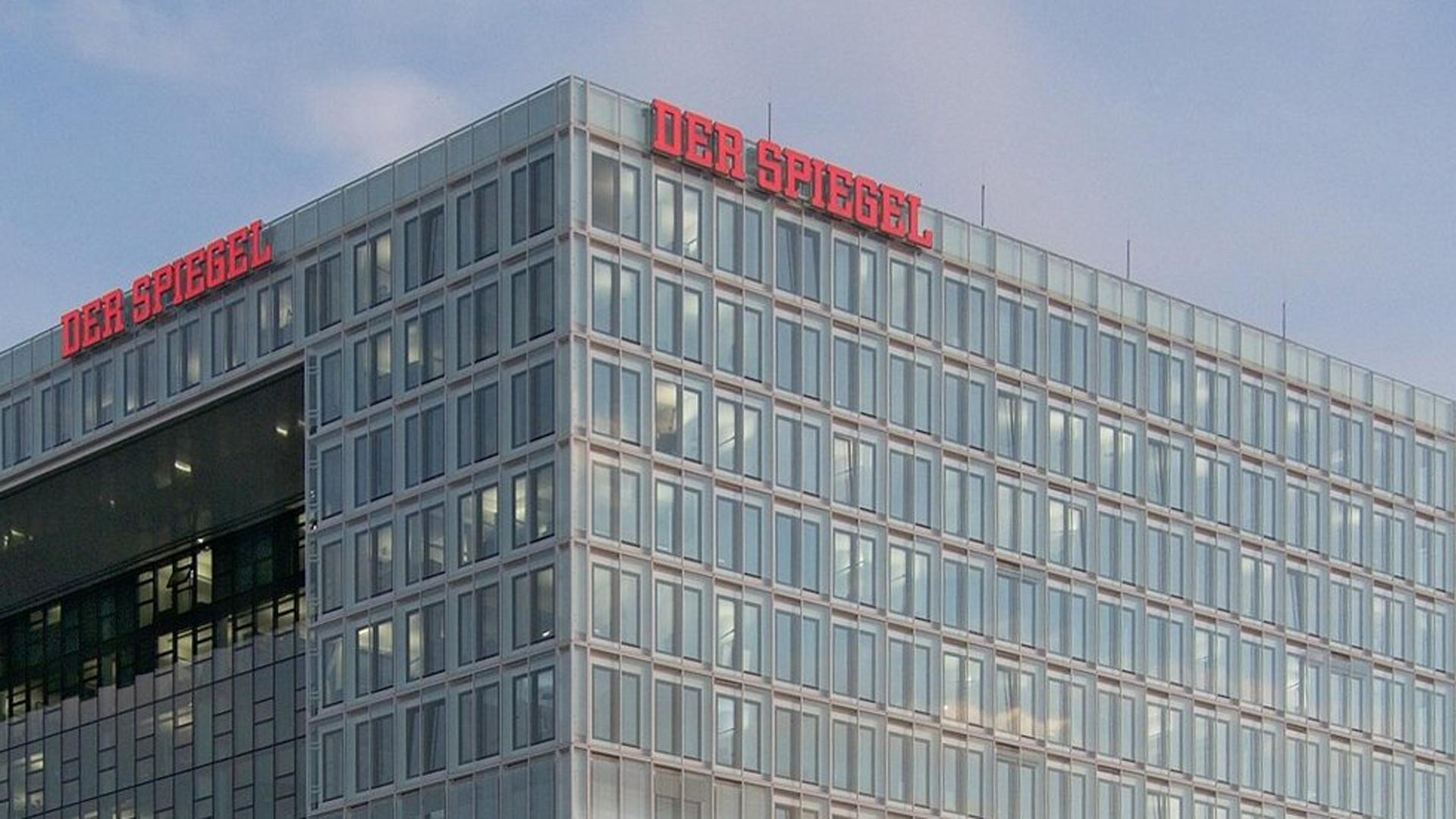 Das Nachrichtenmagazin Der Spiegel berichtet nicht immer neutral, kritisiert der Journalist Michael Voß