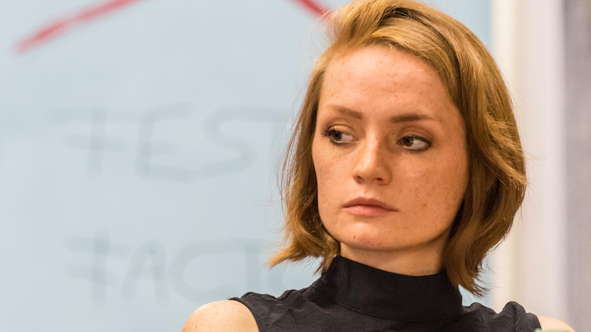 """Janina Stopper stand bereits in der vergangenen Saison auf der Bühne der Bad Hersfelder Festspiele im Stück """"Hexenjagd"""""""