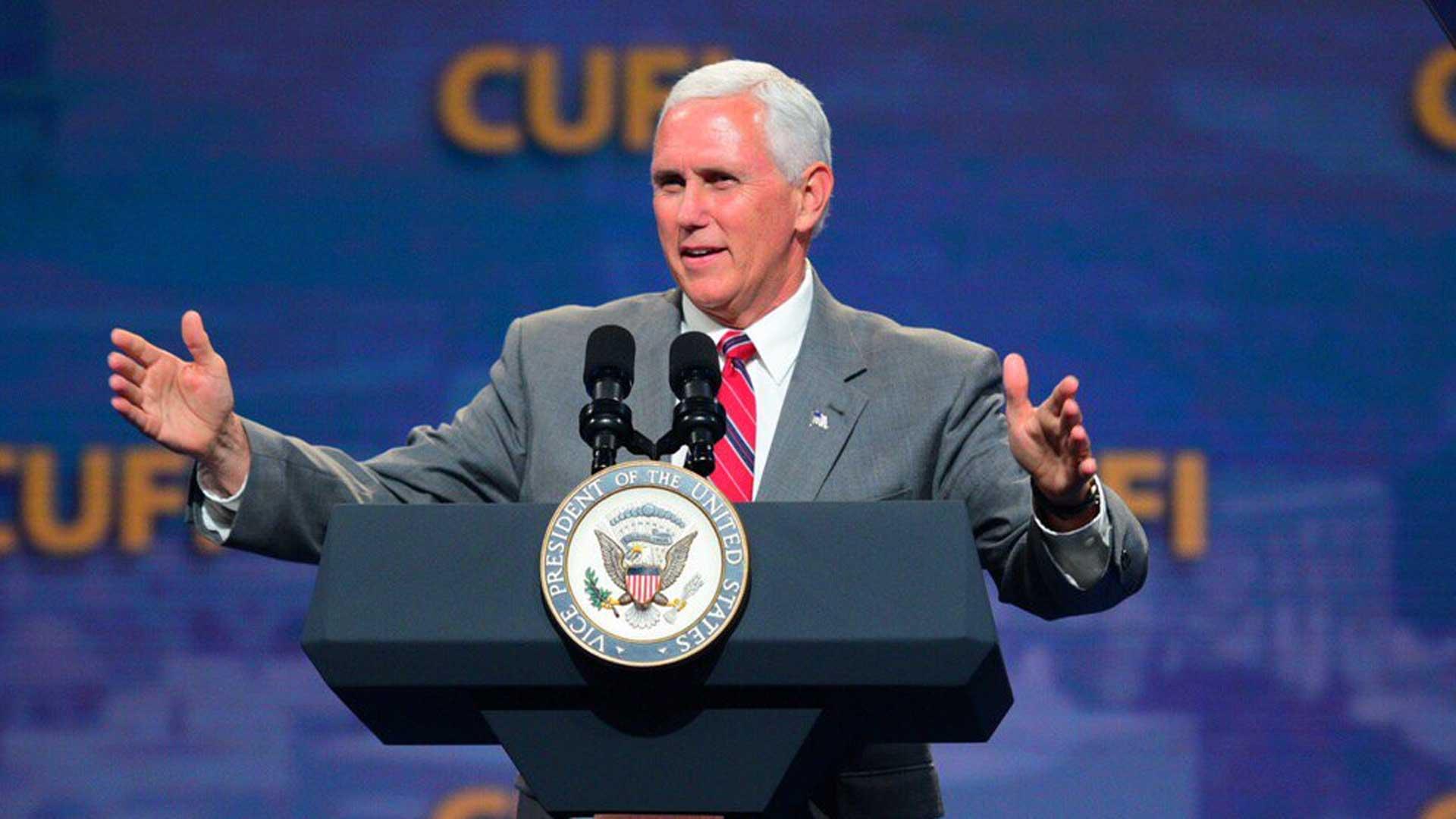 Seit Jugendjahren für Israel: US-Vizepräsident Pence
