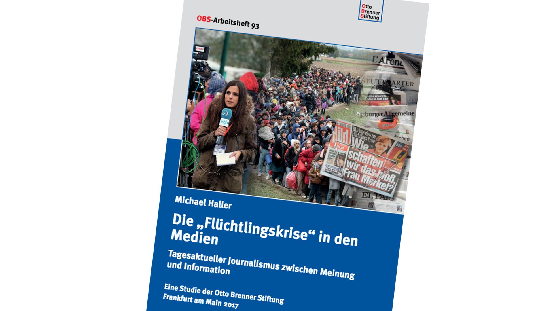 Die genaue Untersuchung der Berichterstattung über die Flüchtlingskrise in Deutschland ist im Internet abrufbar