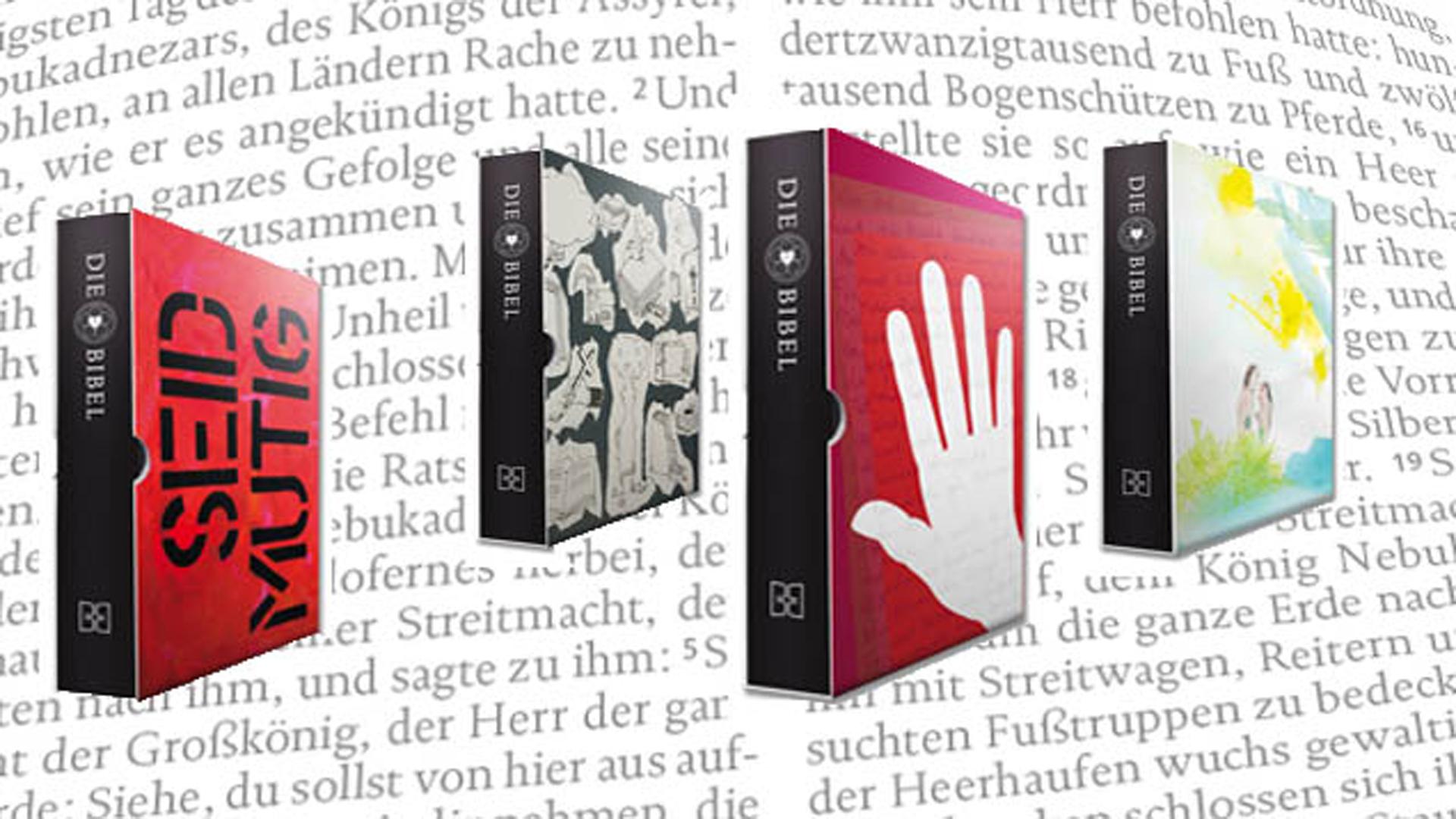 Mit dem Red Dot Design Award ausgezeichnet: Die Lutherbibel als Sammleredition im Schmuckschuber