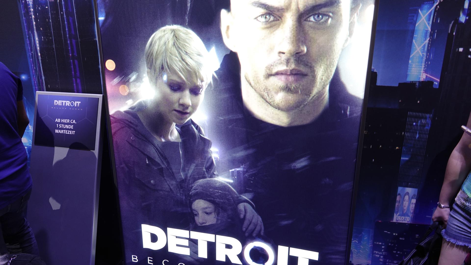 """Im Spiel """"Detroit - Become Human"""" ist der Nutzer mit drastischer Gewalt konfrontiert"""