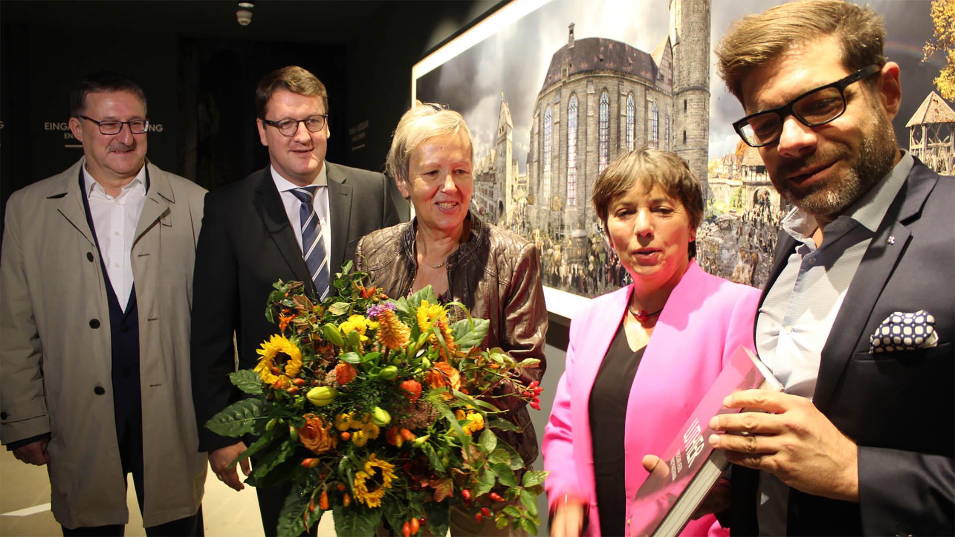 Margot Käßmann, Reformationsbotschafterin der Evangelischen Kirche in Deutschland, bezeichnete die Weltausstellung als gelungen