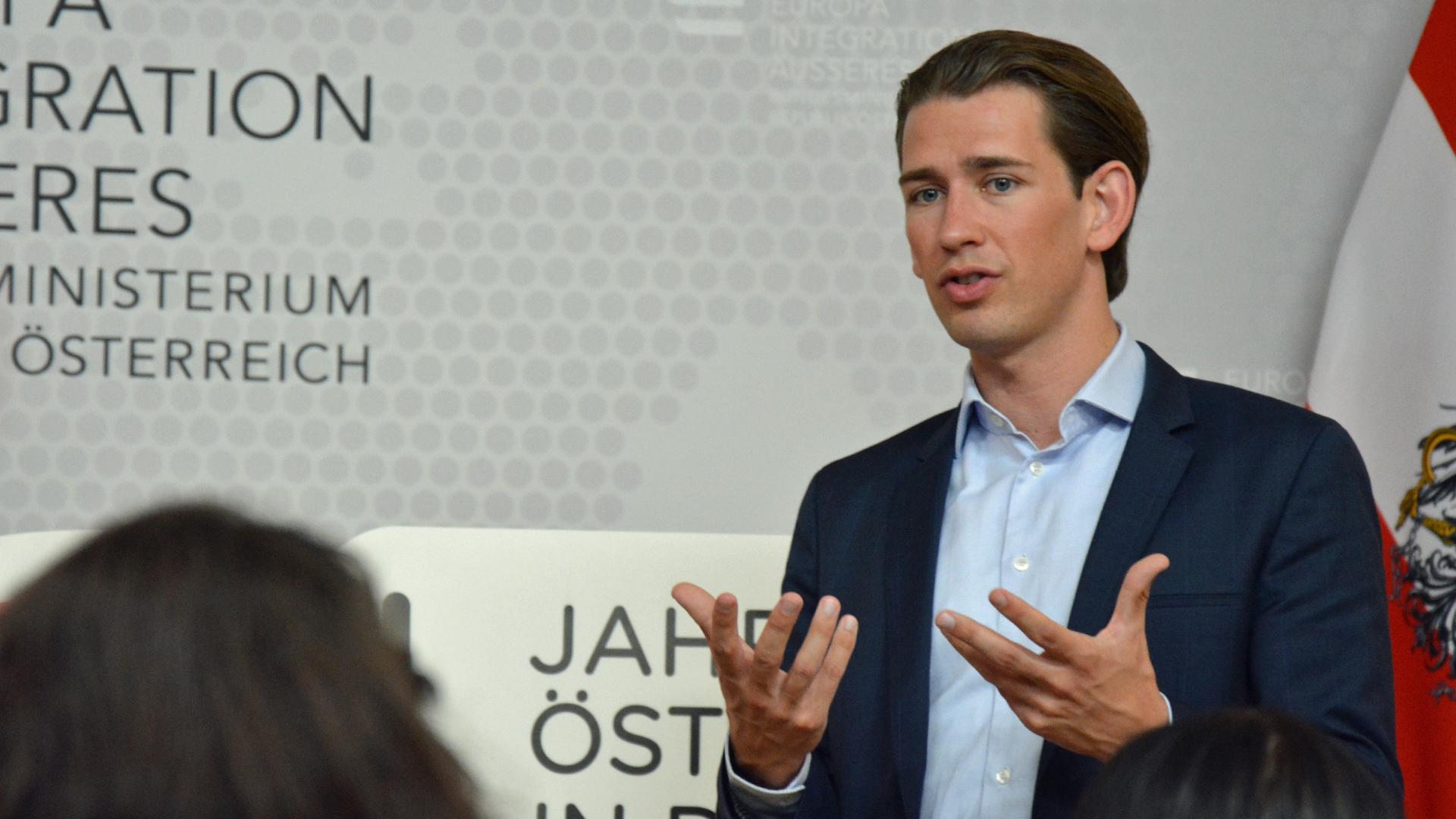 Sebastian Kurz, Bundeskanzler, Österreich, ÖVP