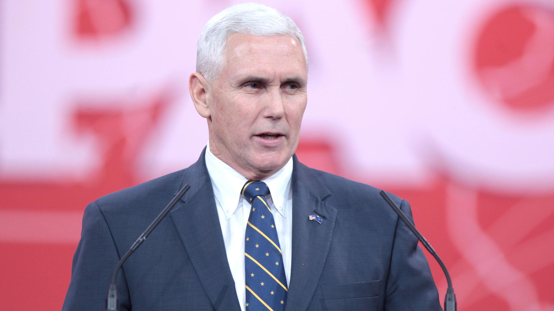 Mike Pence, Vizepräsident der USA, gehört zu den regelmäßigen Besuchern von Drollingers Bibelkursen