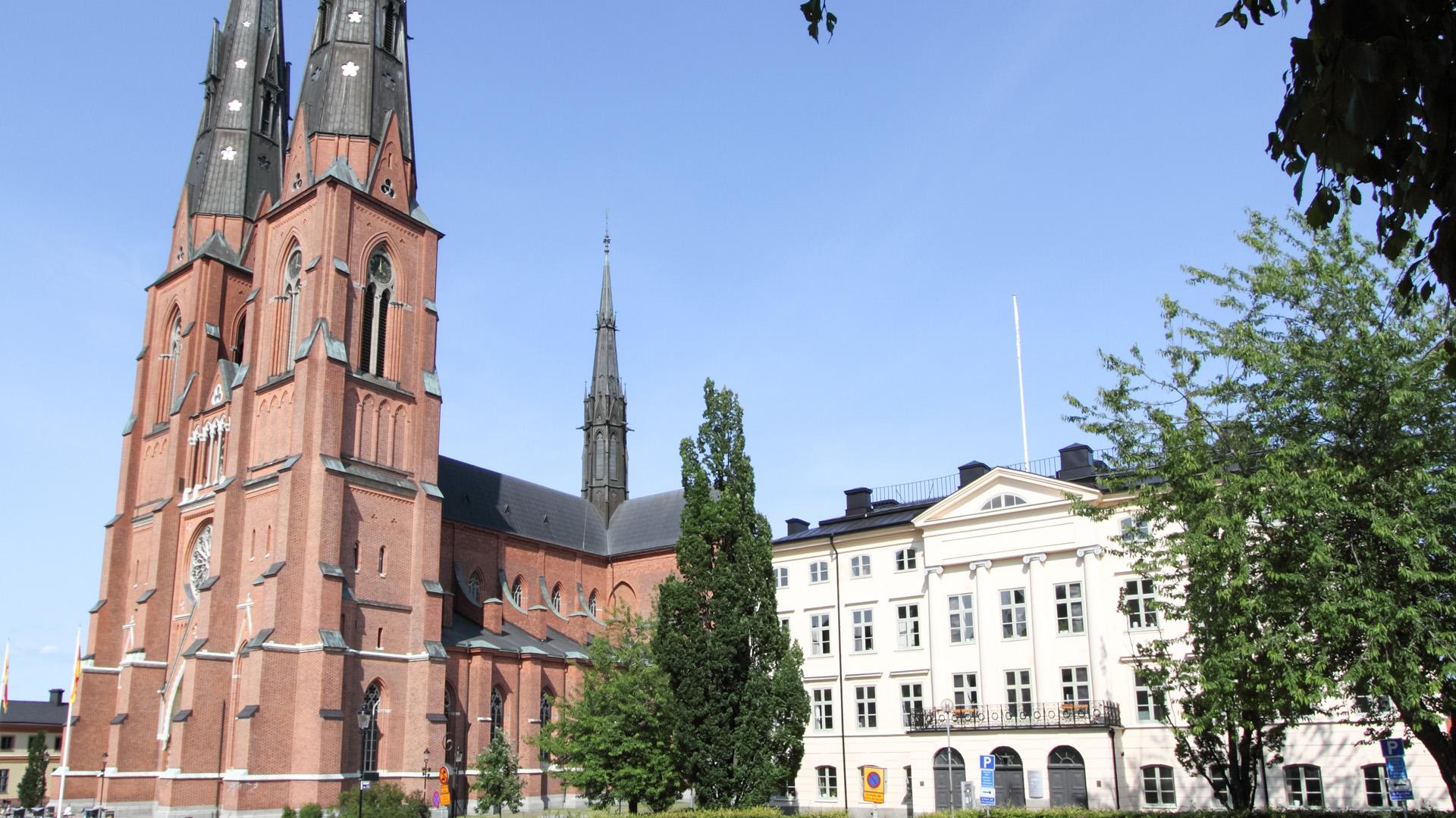 Die Kathedrale von Uppsala