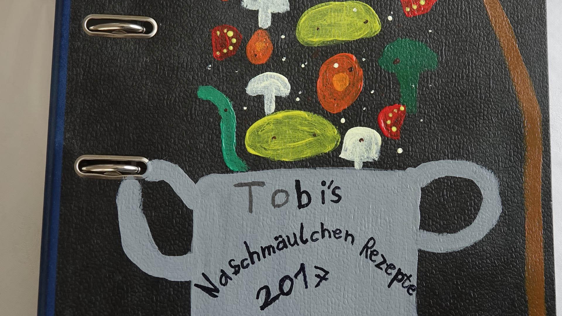 Von Tobias' Rezepten gibt es eine ganze Sammlung