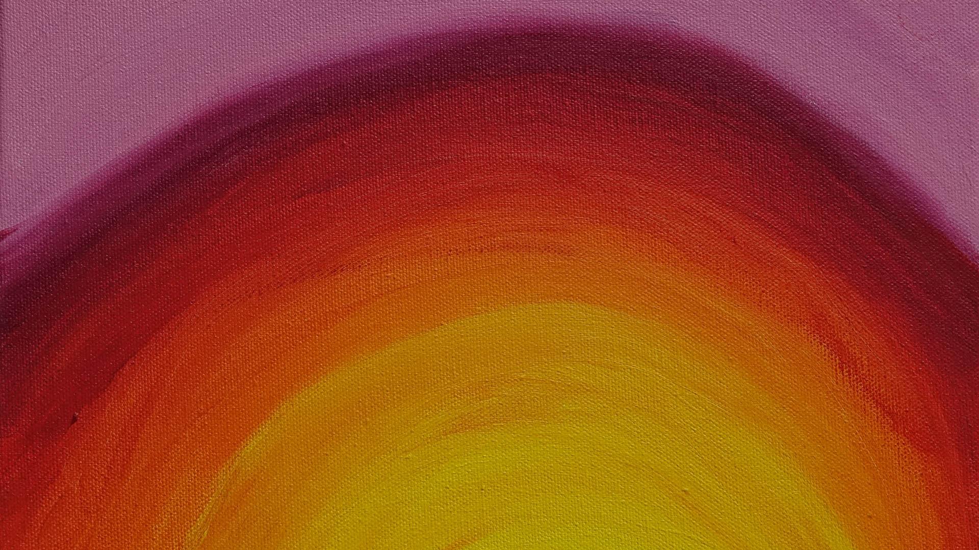 Kurz vor seinem Tod malt Tobias nur noch mit den Farben der Sonne