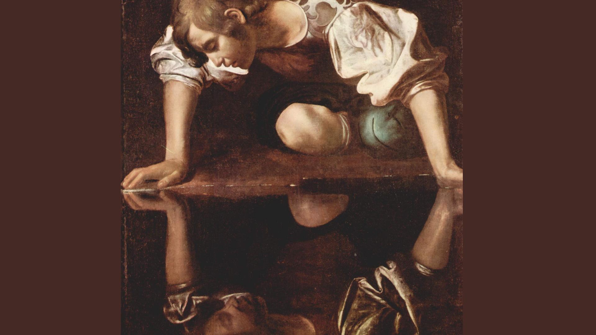 """Ein klassisches Bild für Selbstverliebtheit: Der """"Narziss"""" von Michelangelo"""