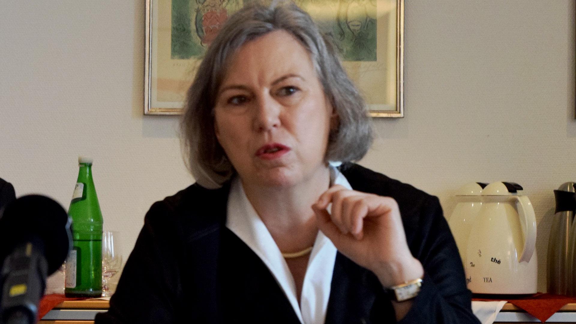Bischöfin Petra Bosse-Huber weist im EKD-Materialheft auf die Bedrohung der Christen in Ägypten hin (Archivbild)