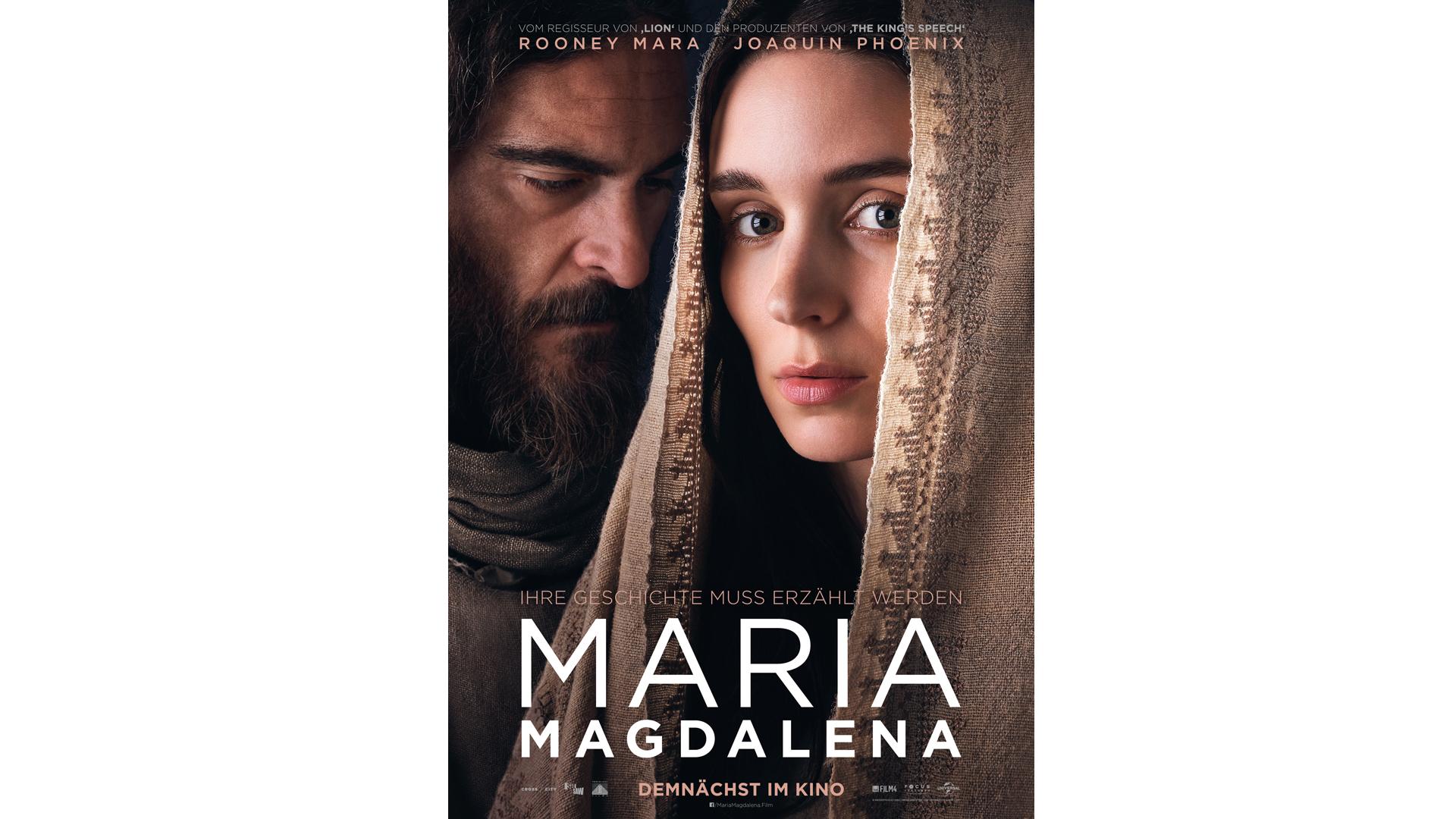 Mit Joaquin Phoenix und Rooney Mara ist der Film Maria Magdalena hochkarätig besetzt. Am 15. März läuft er an.