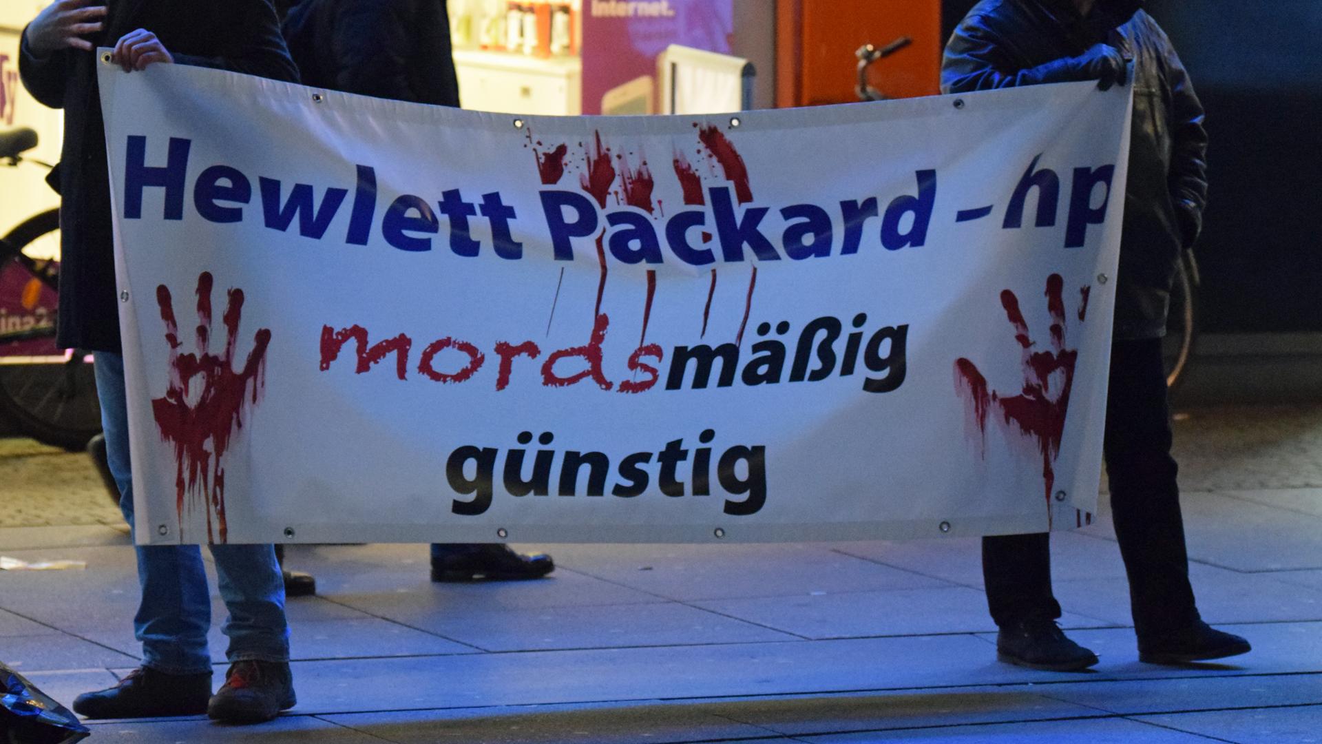 """""""Mordsmäßige"""" Kritik an der amerikanischen Firma Hewlett Packard"""