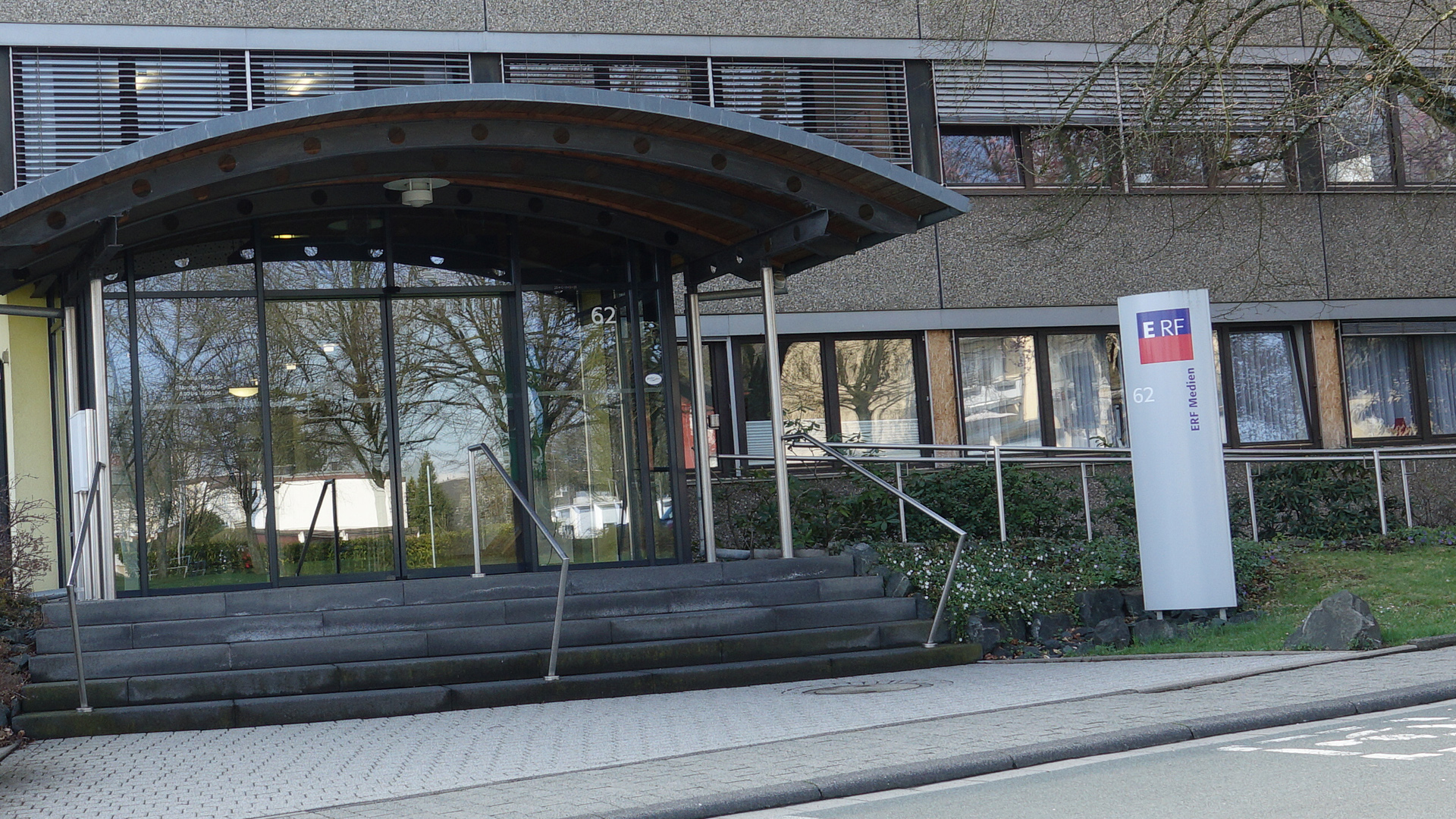 Das Gebäude von ERF Medien in Wetzlar