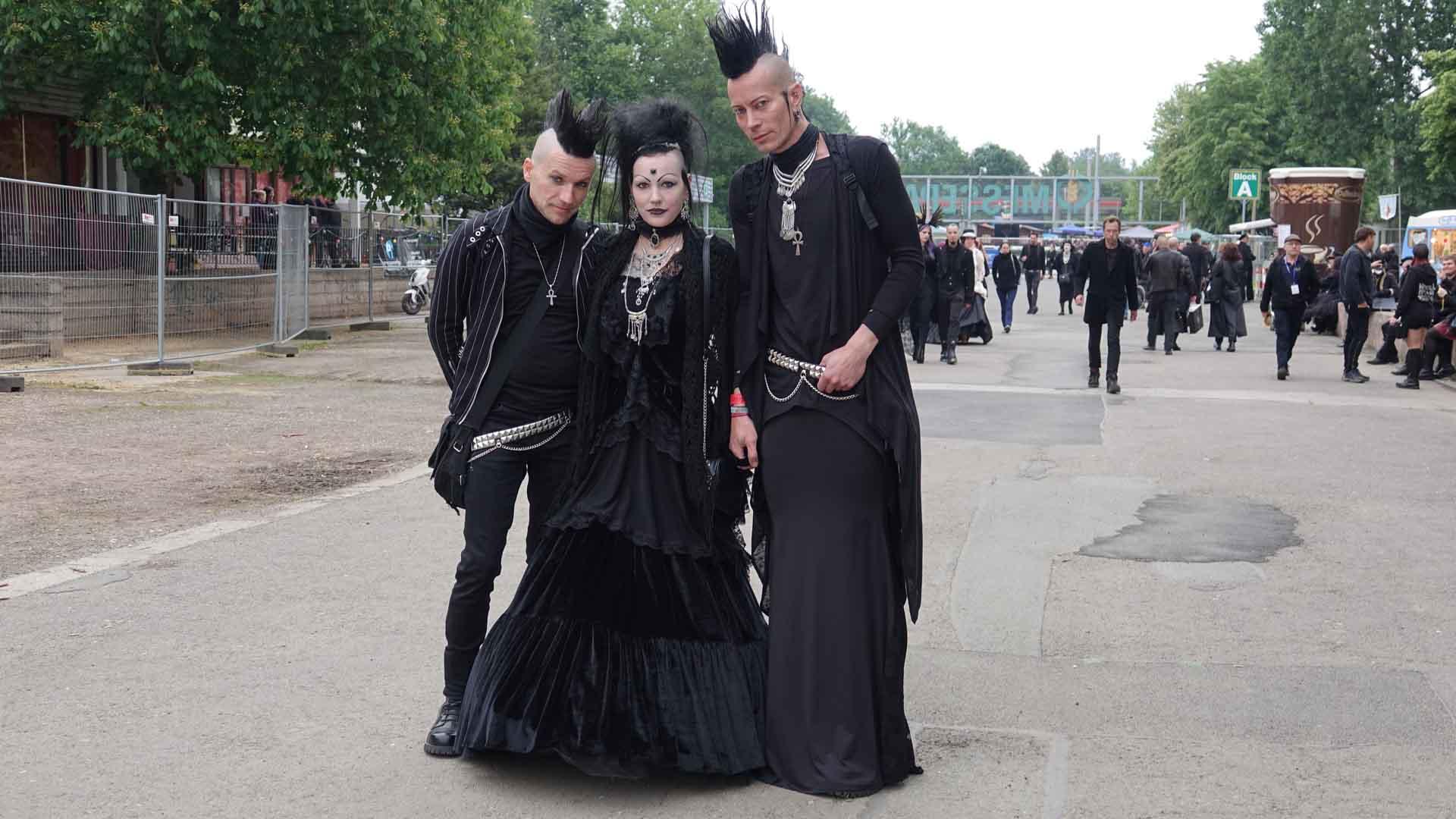 Für ihr Outfit investieren die Besucher des Festivals teilweise Stunden.