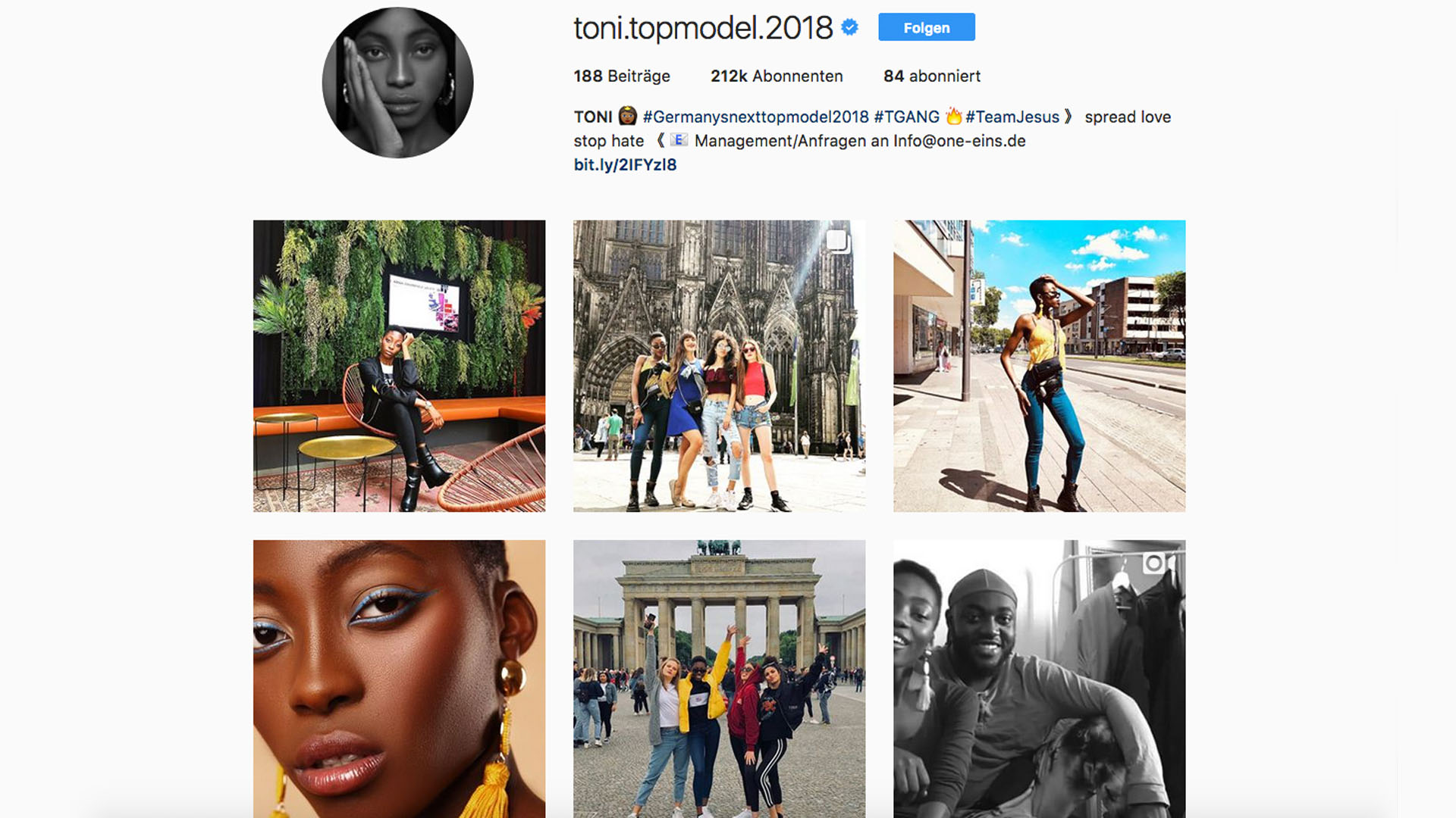 "Toni Loba ist das neue ""Germany's Next Topmodel"""