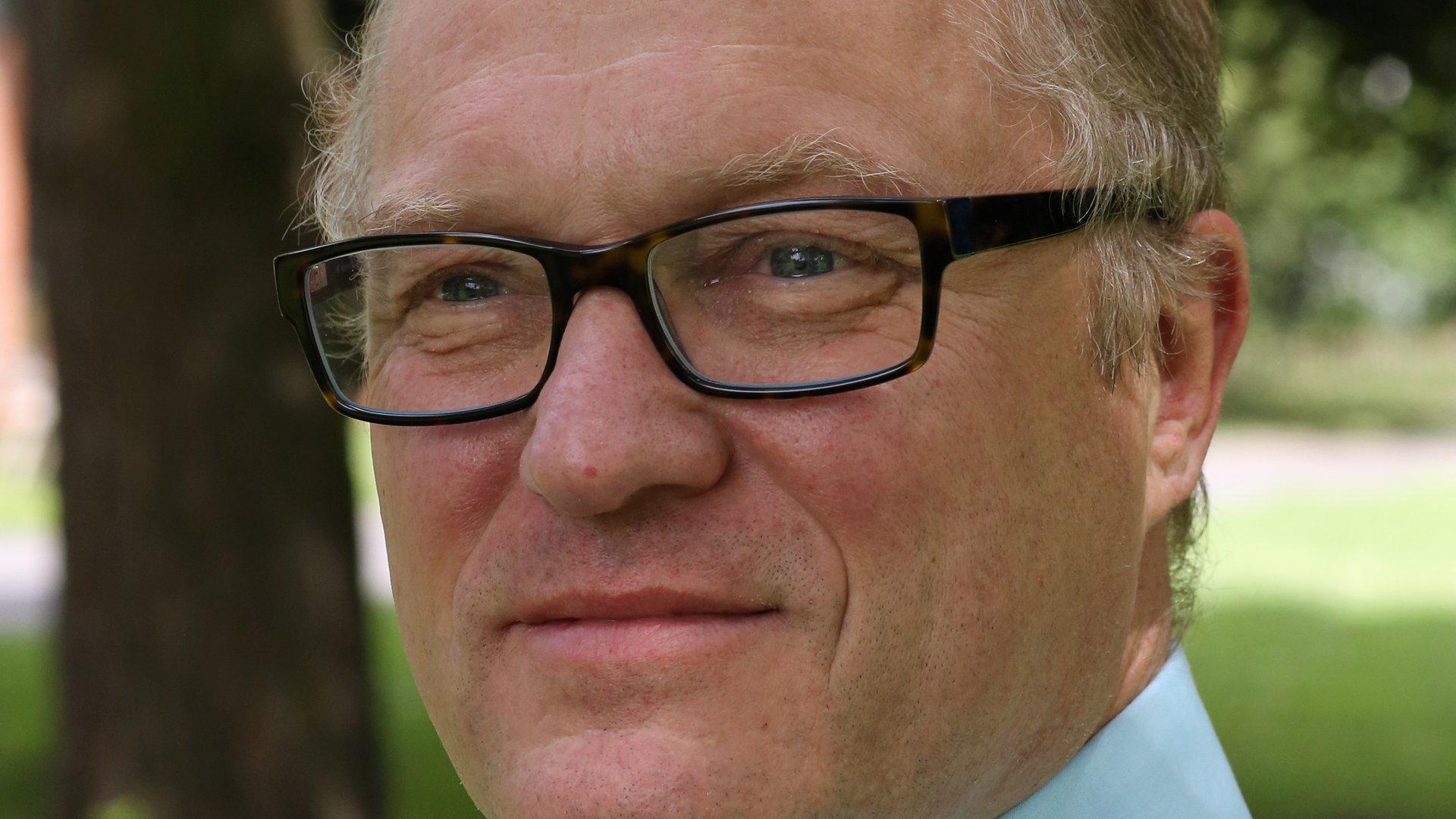 Heiko Ehrhardt beschäftigt sich als Pfarrer mit Comics