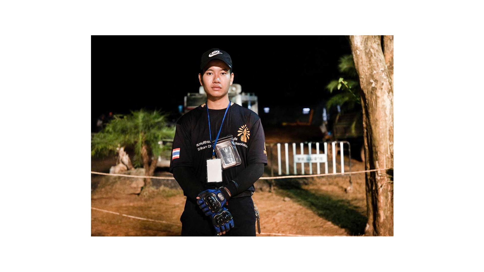 Der 18-jährige Surayut Puengpadung ist ein Patenkind des christlichen Hilfswerks Compassion. Er war einer der ersten, der die Jungen als vermisst meldete.