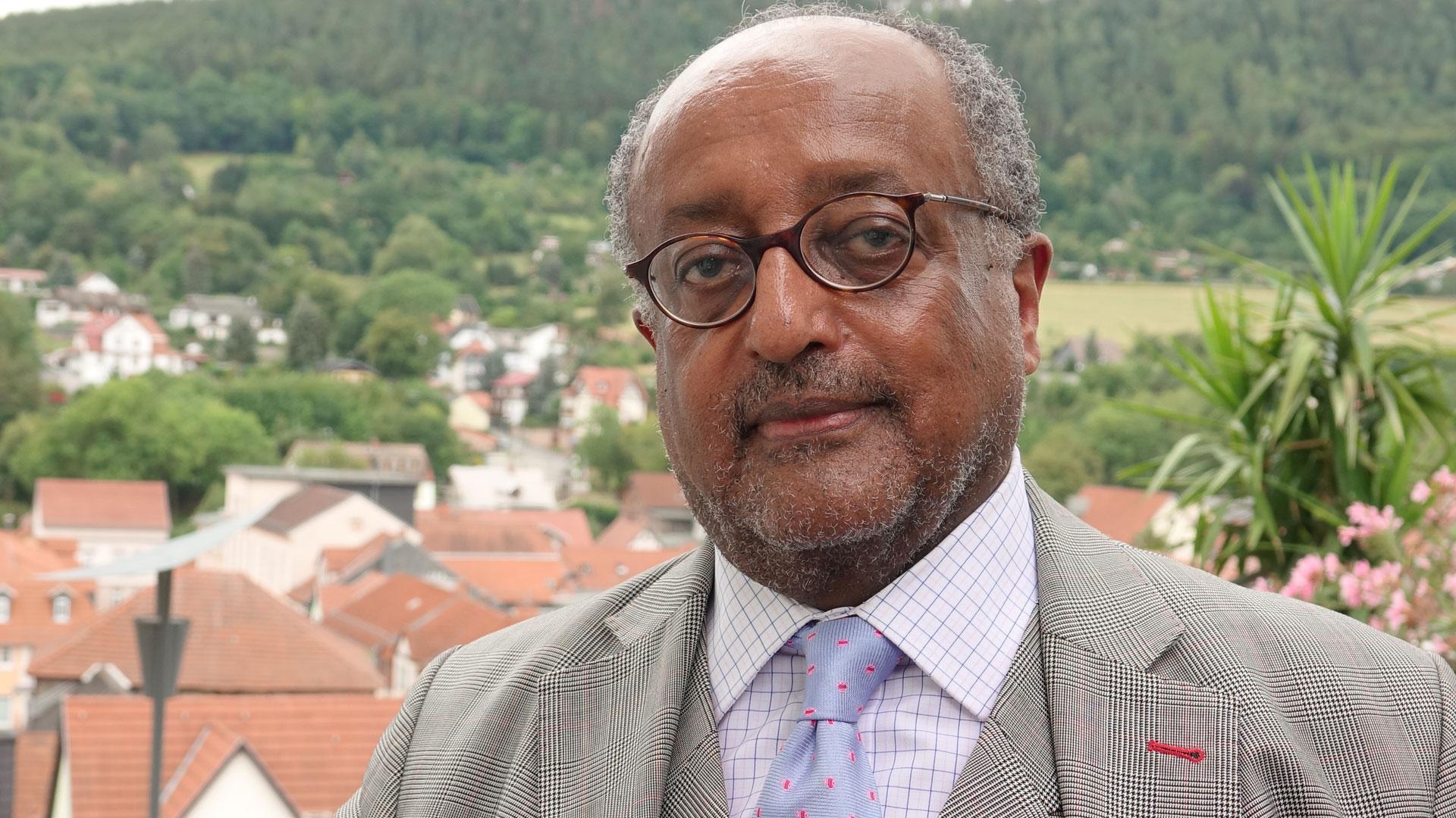 Der Äthiopier Asfa-Wossen Asserate ist politischer Analyst, Autor und Angehöriger des entthronten äthiopischen Kaiserhauses