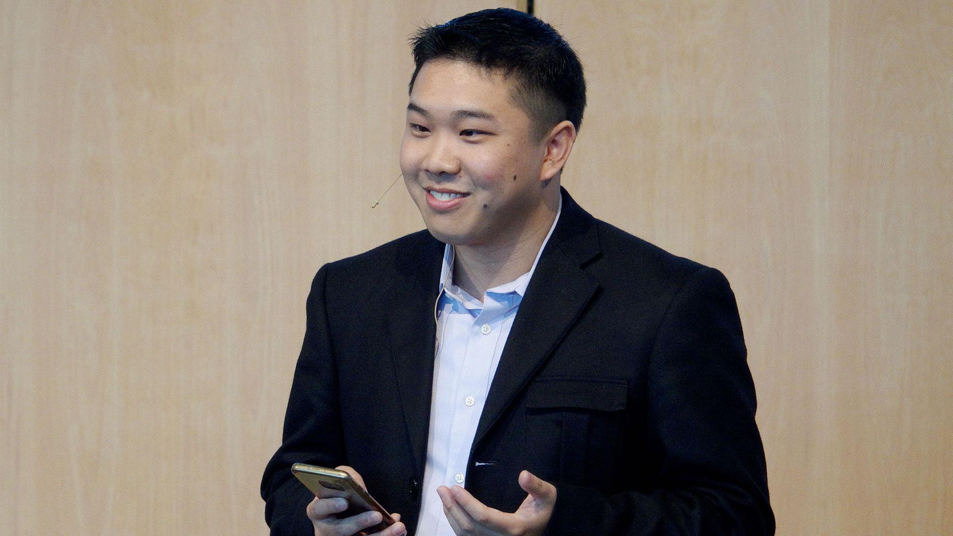 Christopher Lim ist Gründer der Firma TheoTech, die Technologie zur Weitergabe des Evangeliums nutzbar macht
