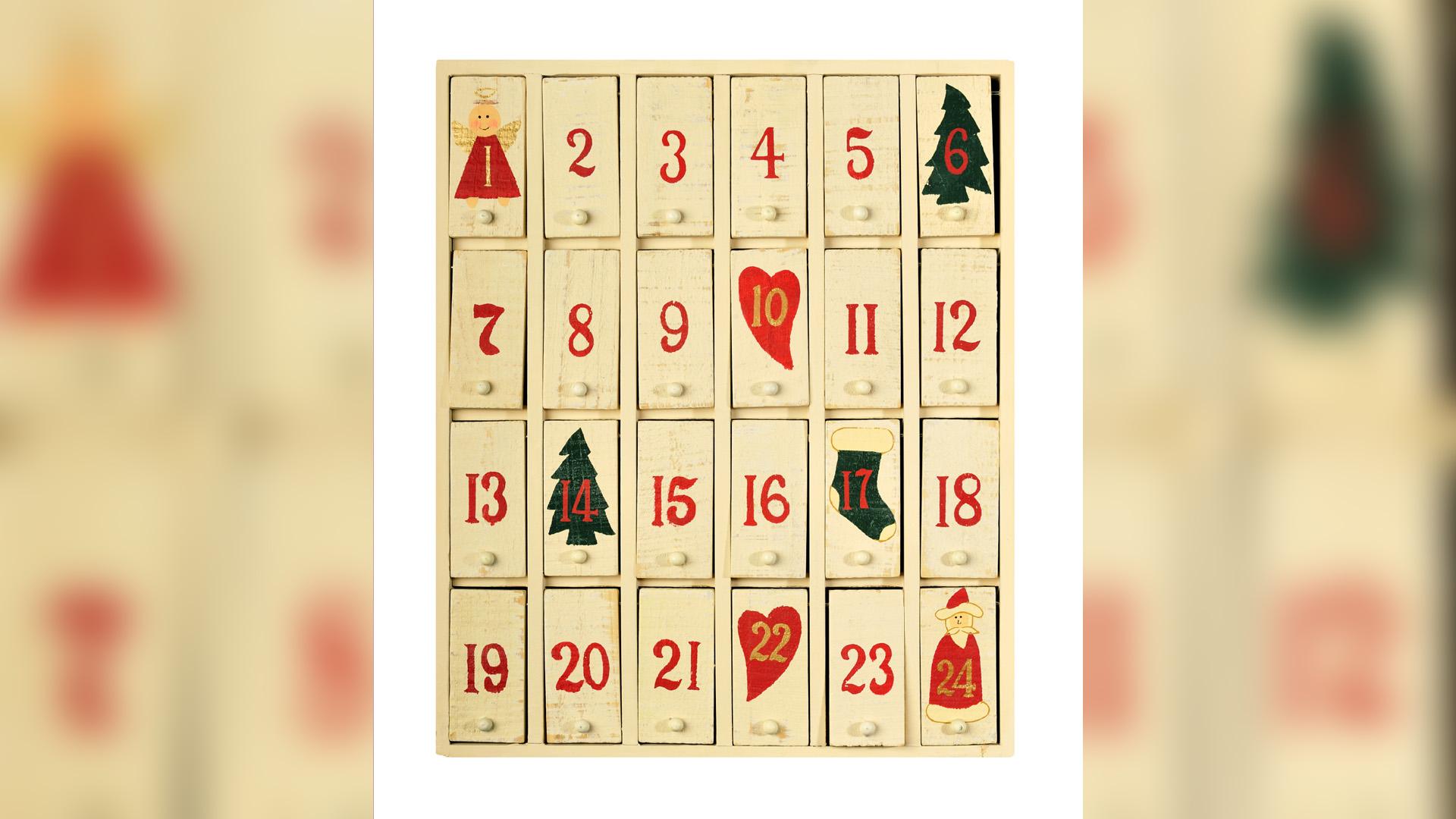 Hinter jeder Tür eine Überraschung: So lässt sich die Vorfreude auf das Weihnachtsfest gestalten
