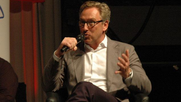 Auf dem Christustag 2015 in Stuttgart: Heinrich Deichmann