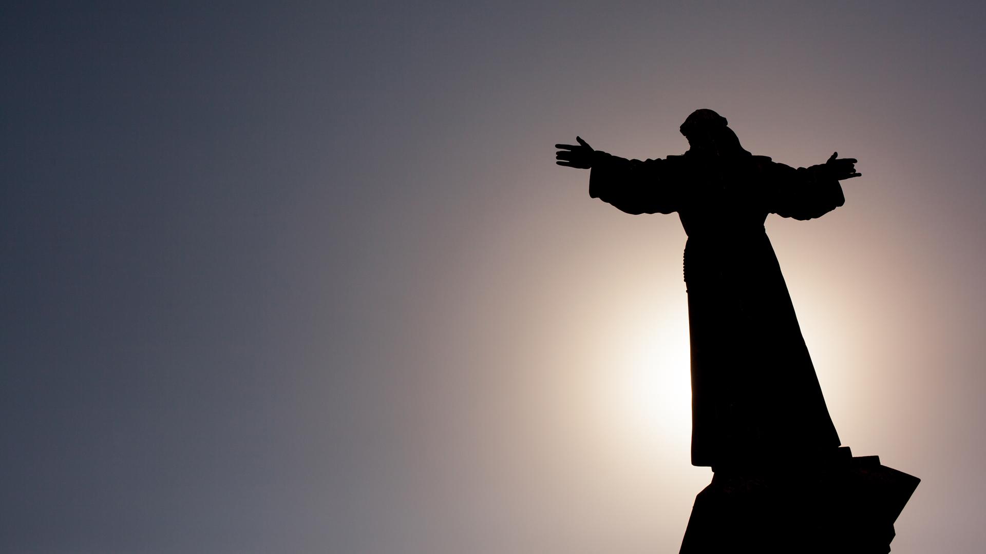 """""""Wir haben ihn gesehn, er gab uns zu verstehn: Weil er der Sieger ist, wird das Leben weitergehn"""", heißt es in einer Osterkantate von Michael Wittig"""