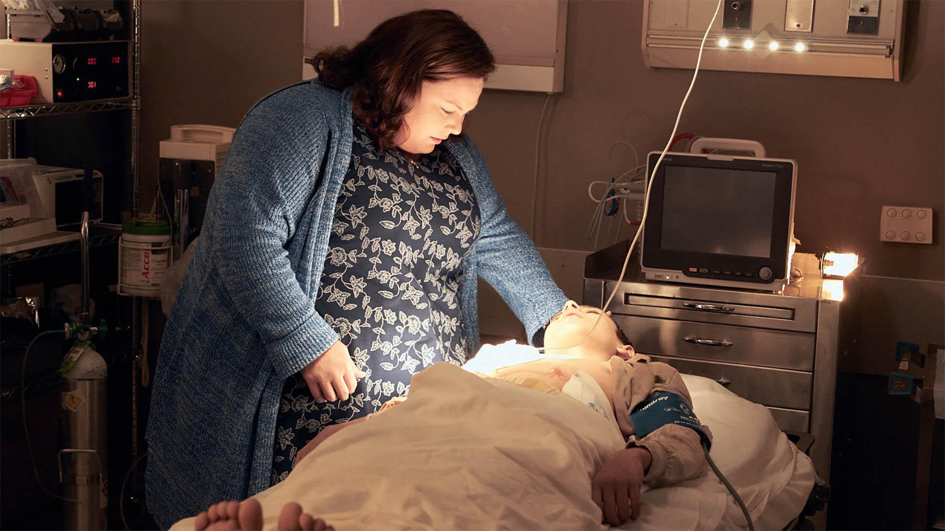 Im Krankenhaus soll sich Joyce Smith eigentlich von ihrem Sohn verabschieden. Doch sie betet.