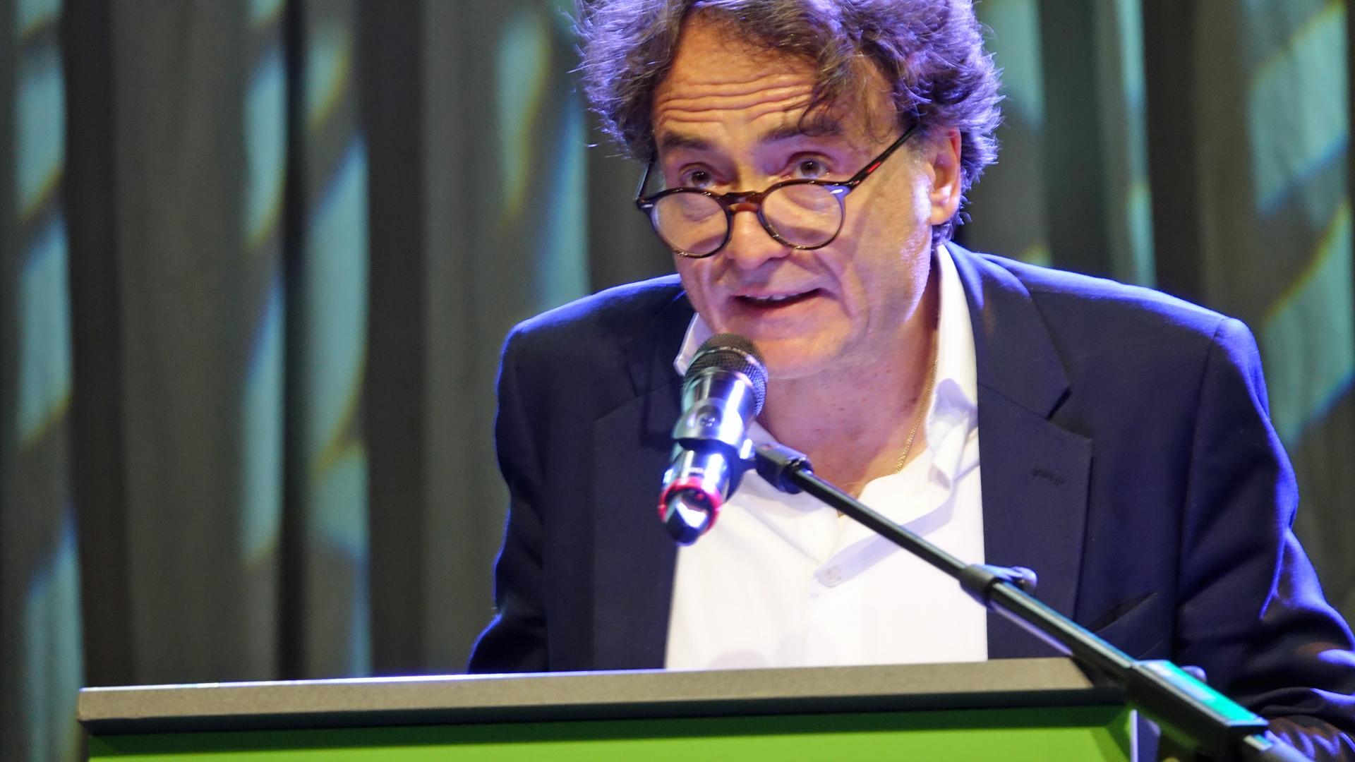 Zeit-Chefredakteur Giovanni Di Lorenzo bei seiner Andacht