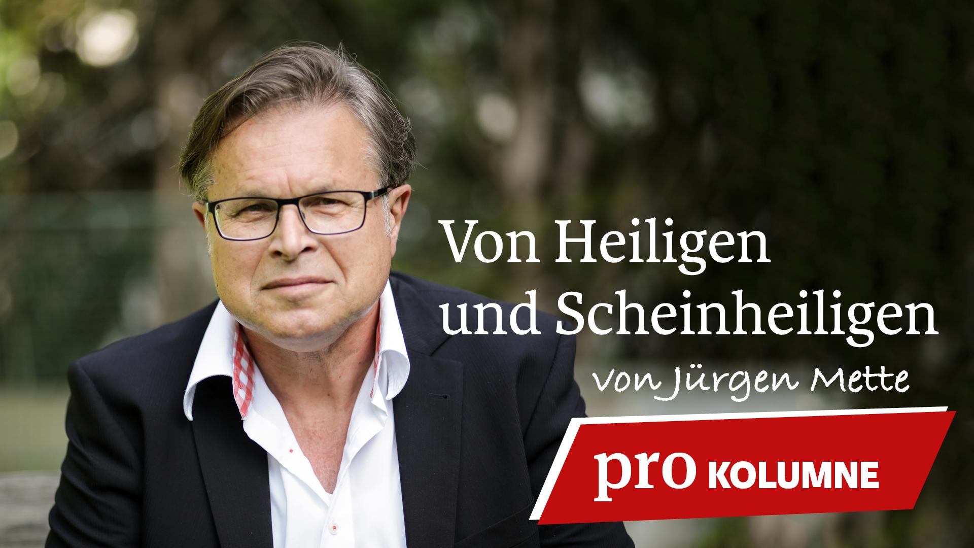 """Der Theologe Jürgen Mette leitete viele Jahre die Stiftung Marburger Medien. 2013 veröffentlichte er das Buch """"Alles außer Mikado – Leben trotz Parkinson"""", das es auf die Spiegel-Bestsellerliste schaffte. Für pro schreibt er eine regelmäßige Kolumne."""